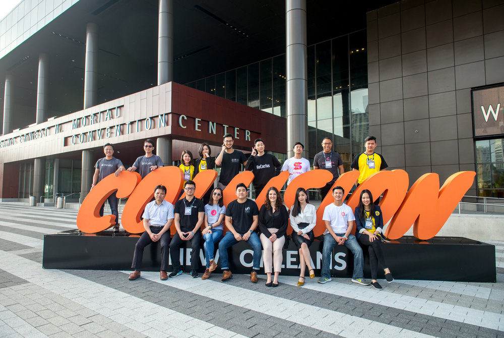 2018 April - May, TSS brought 12 selected Taiwanese startups to Collision conference in #TaiwanRocksUSA Tour