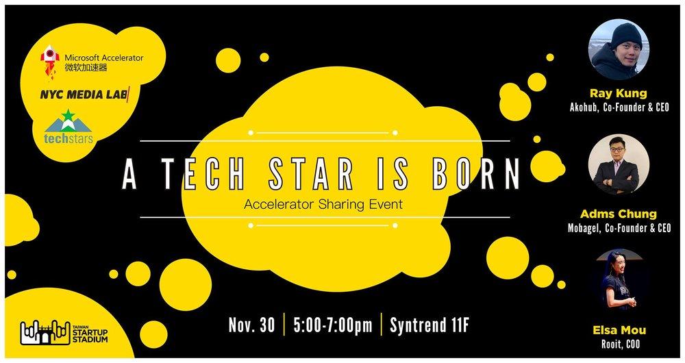 A Tech Start is Born - Accelerator Alumni Sharing