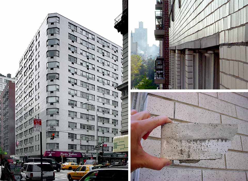 This Large Apartment Complex Was Originally Built In The New York City  Post War Housing Expansion. The Existing Façade Brick And Cast Stone  Windowsill And ...
