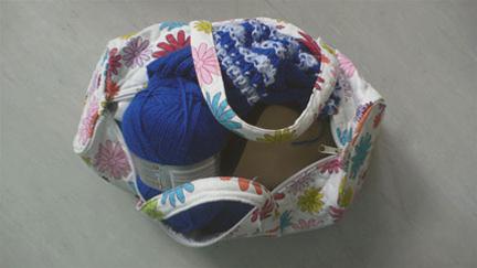 Sheila's knitting