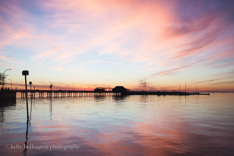 Fairhope Pier at Sunset