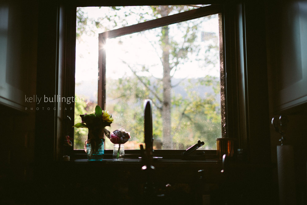 morning window light