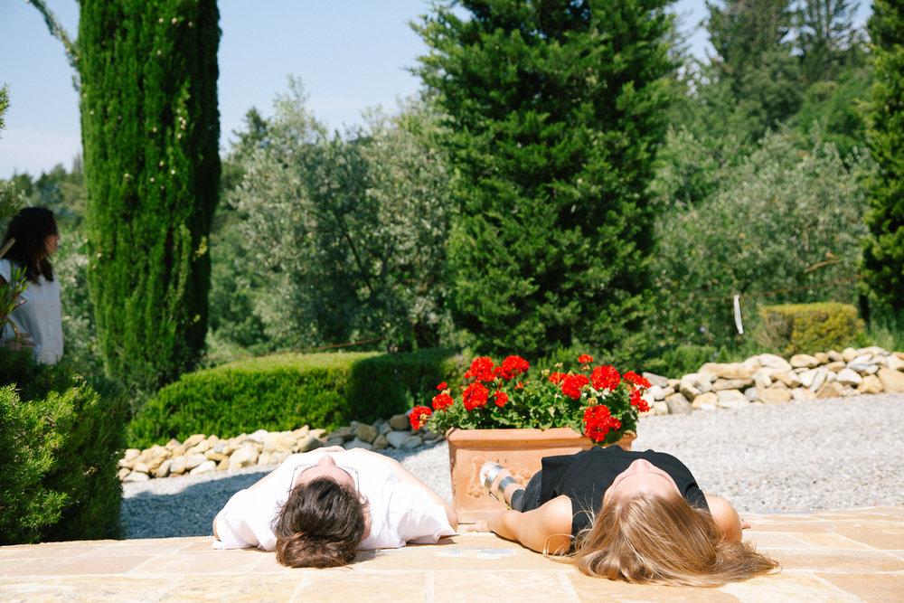 girl's trip tuscany