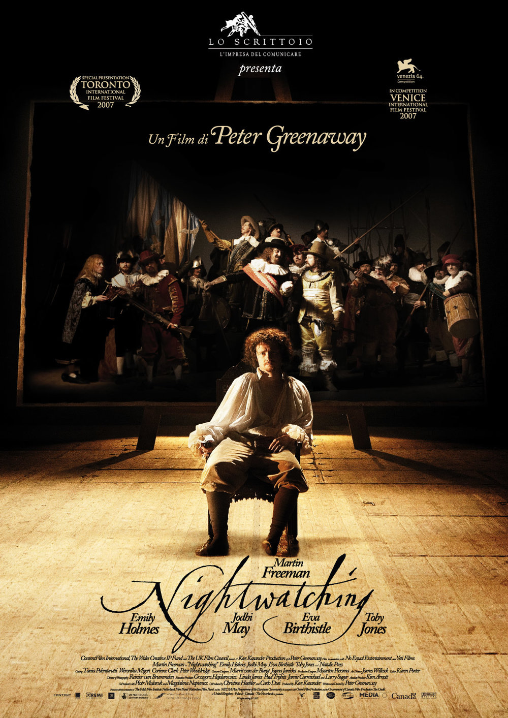 Nightwatching by Peter Greenaway