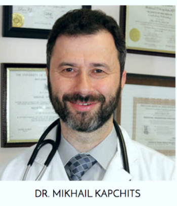 Dr. Kapchits is co-owner of Advanced Medical Care and a board-certified physician with over 20 years of experience;specializing in cardiovascular diseases and nuclear cardiology.