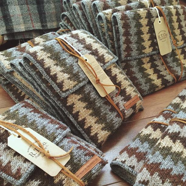 Busy getting our Fall / Winter stockist orders fulfilled! If you would like to special order one of our iPad or MacBook Icelandic Wool Sleeves, message us & we'll get it to you.