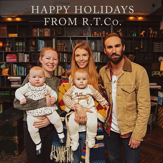From our families to yours, Happy Holidays from Reykjavík Trading Co.