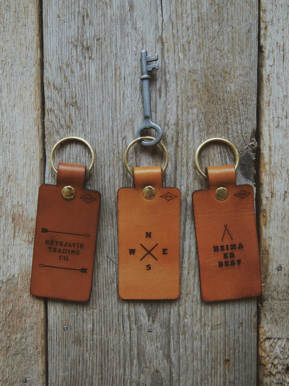 Introducing our Veggie Tanned Leather Keychains & Luggage Tags.  Each cut is hand stained & engraved to our liking. For travelers, adventurists, or just folks who like nice leather goods- these are for you. Message us for private orders- quantities limited at the moment.