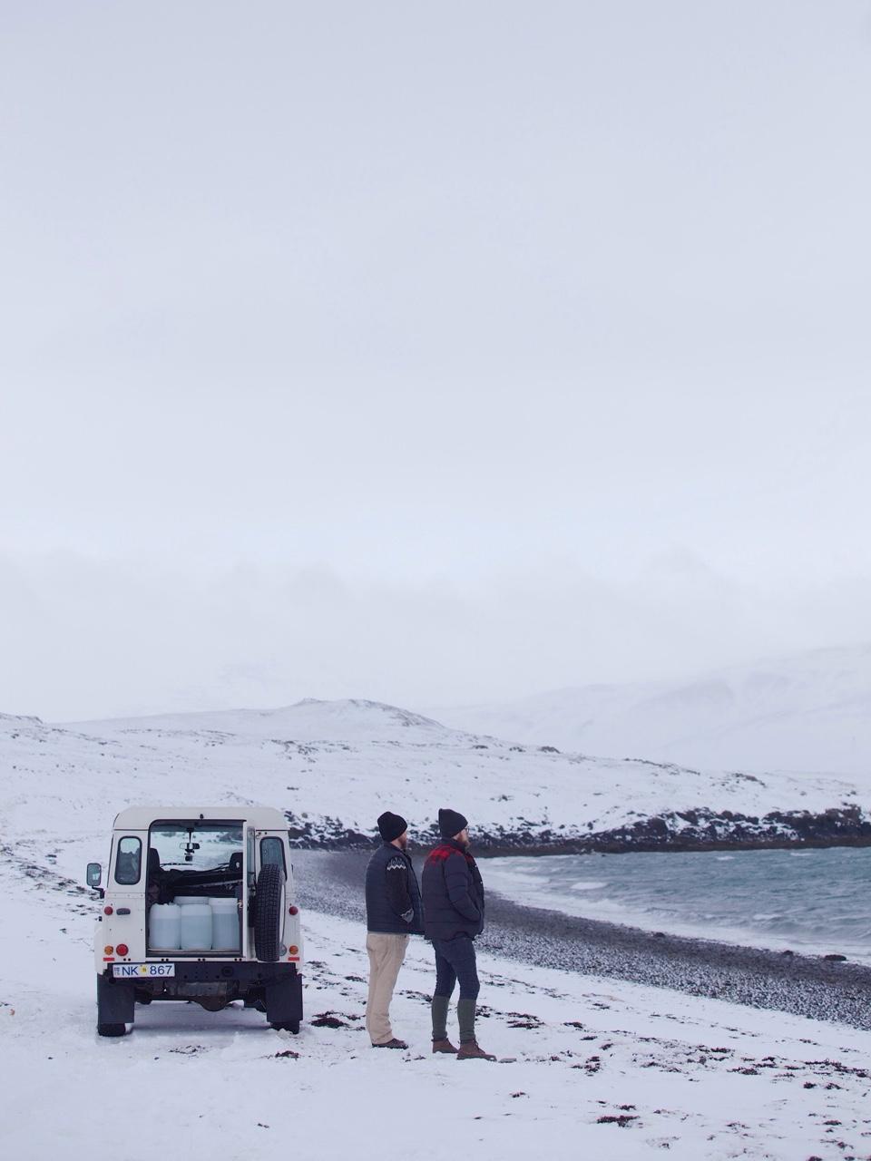mono1984 :     Catching sea salt with chefs Gunnar Karl Gíslason & Ólafur Ágústsson