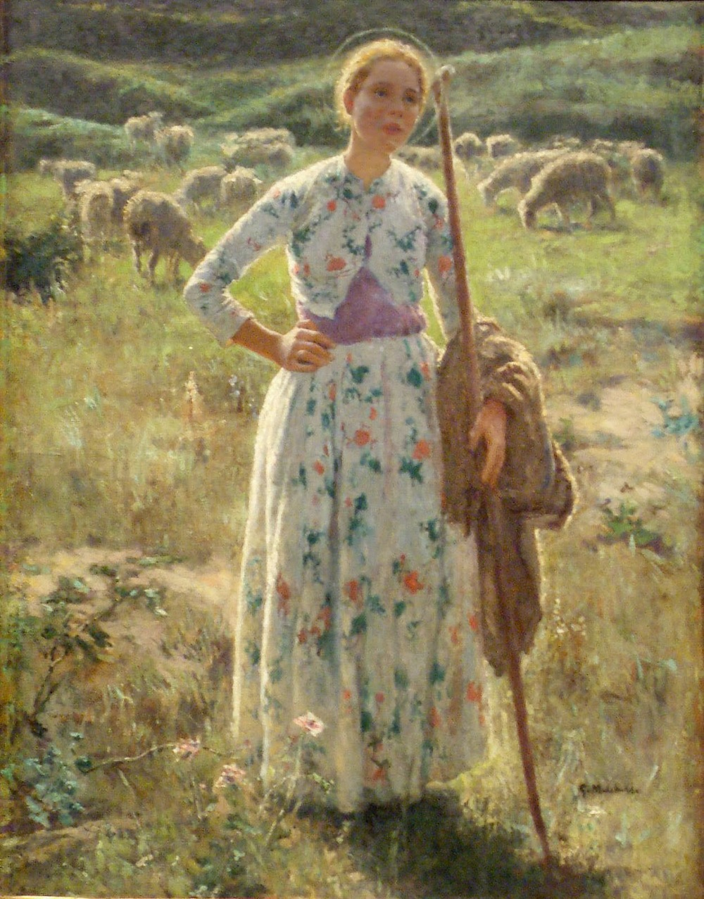 'Joan of Arc' by Gari Melchers