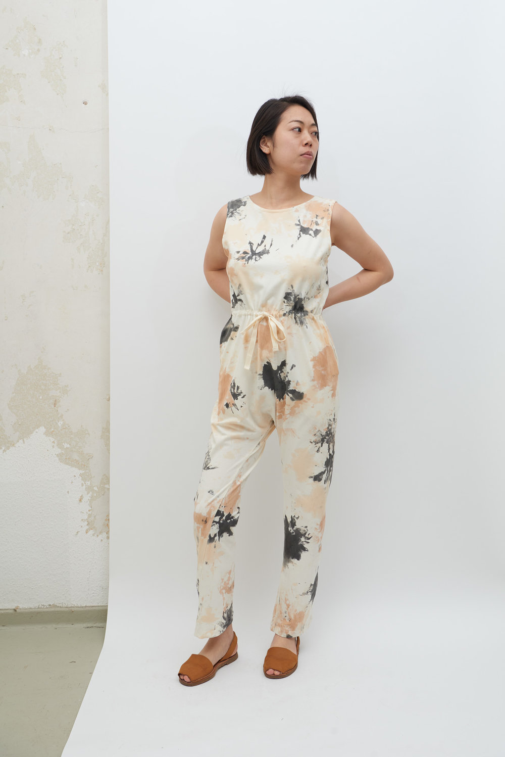 Jersey Overall - Tea Stain