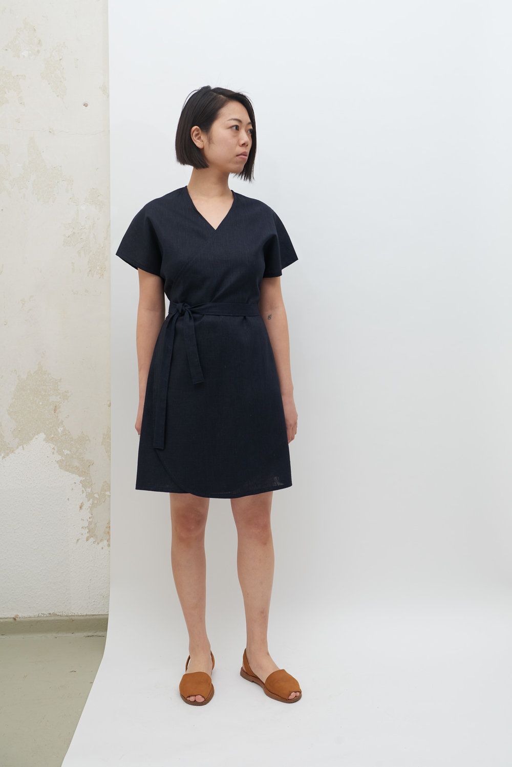 Rappu Dress - Navy