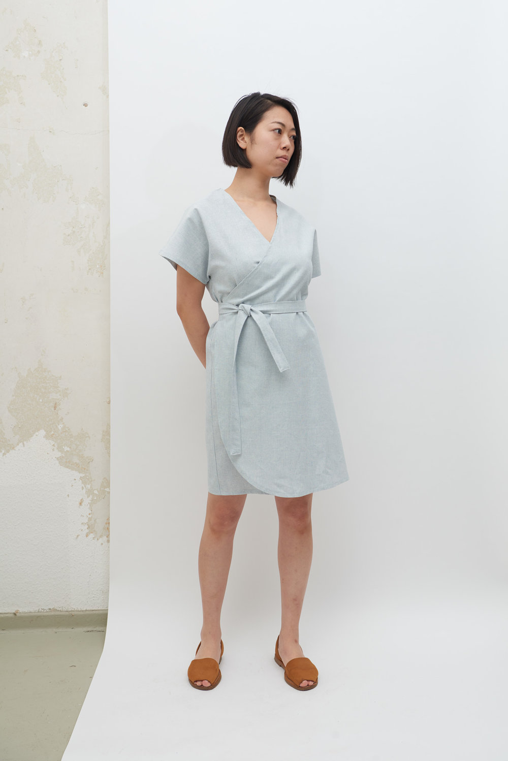 Rappu Dress - Powder Blue
