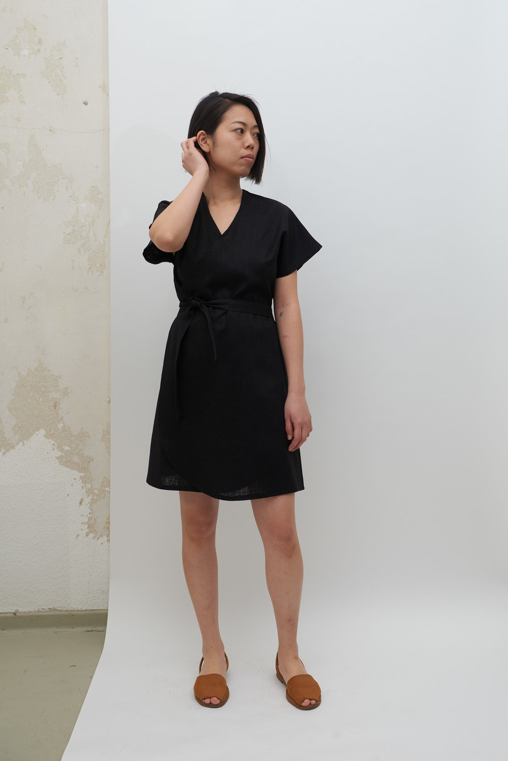 Rappu Dress - Black