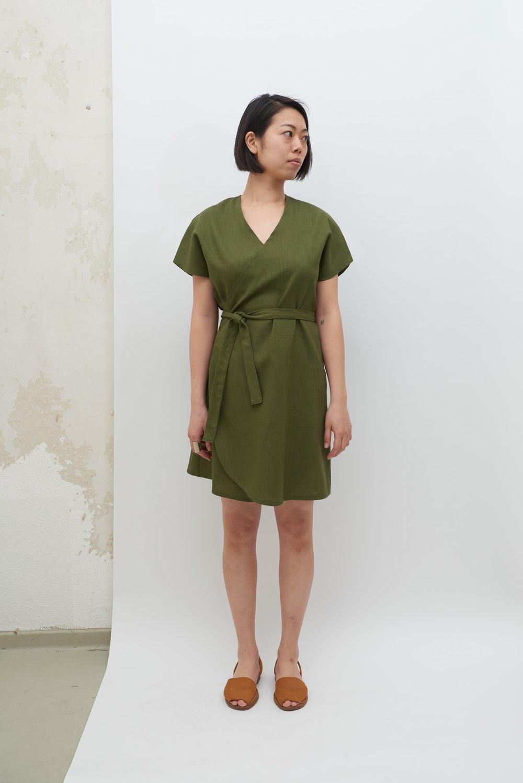 Rappu Dress - Olive