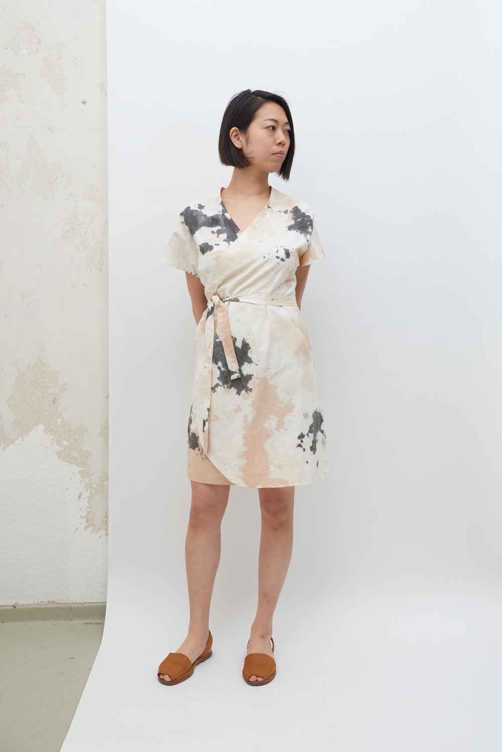 Rappu Dress - Tea Stains
