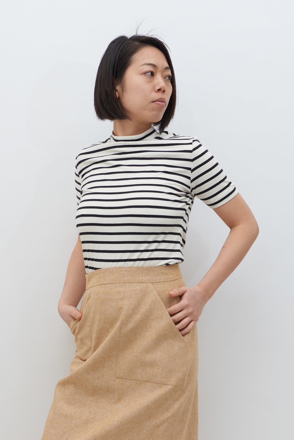 Stripe Tee - Black