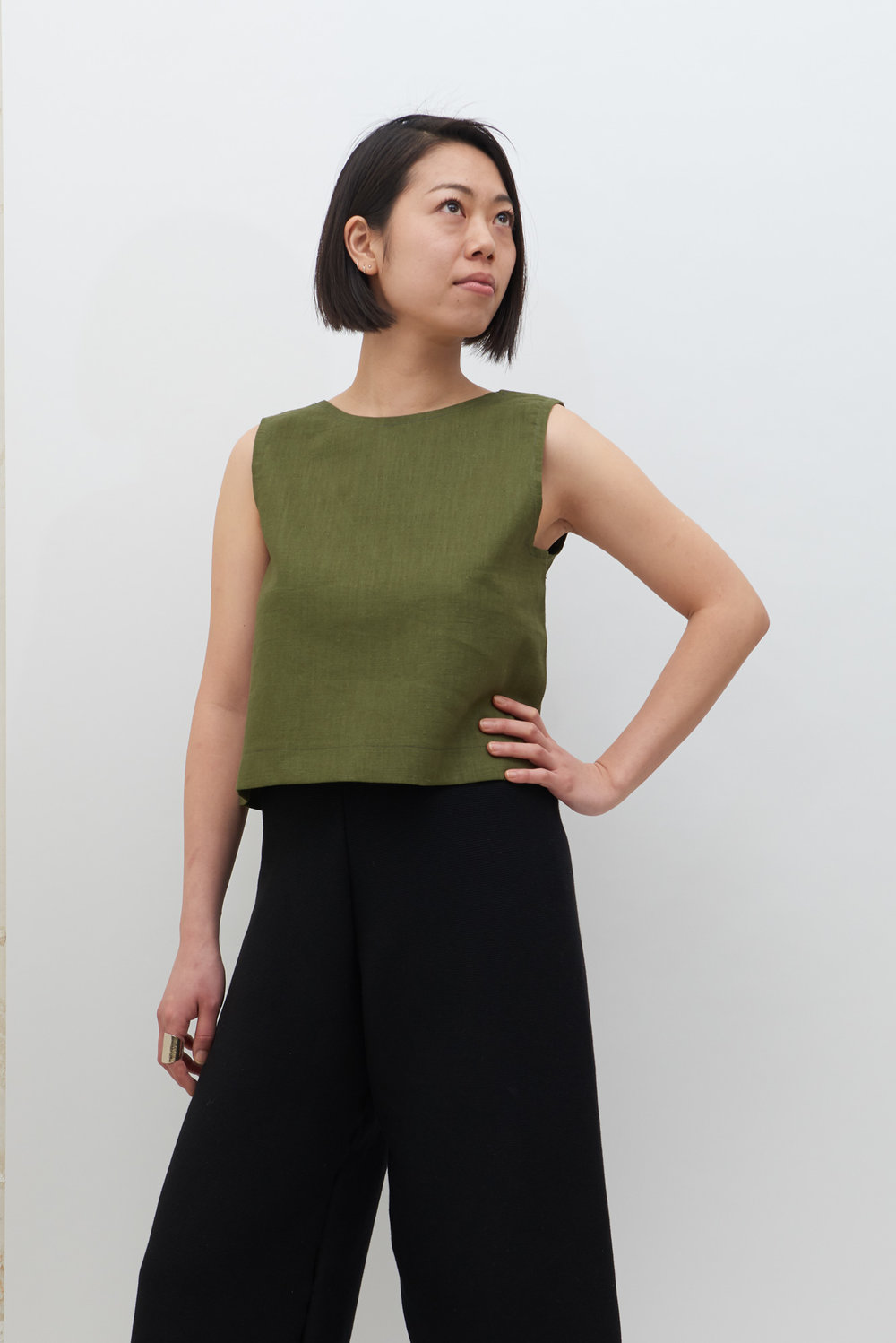 Switch Top - Olive
