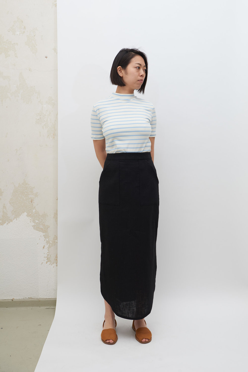 Poketto Skirt - Black