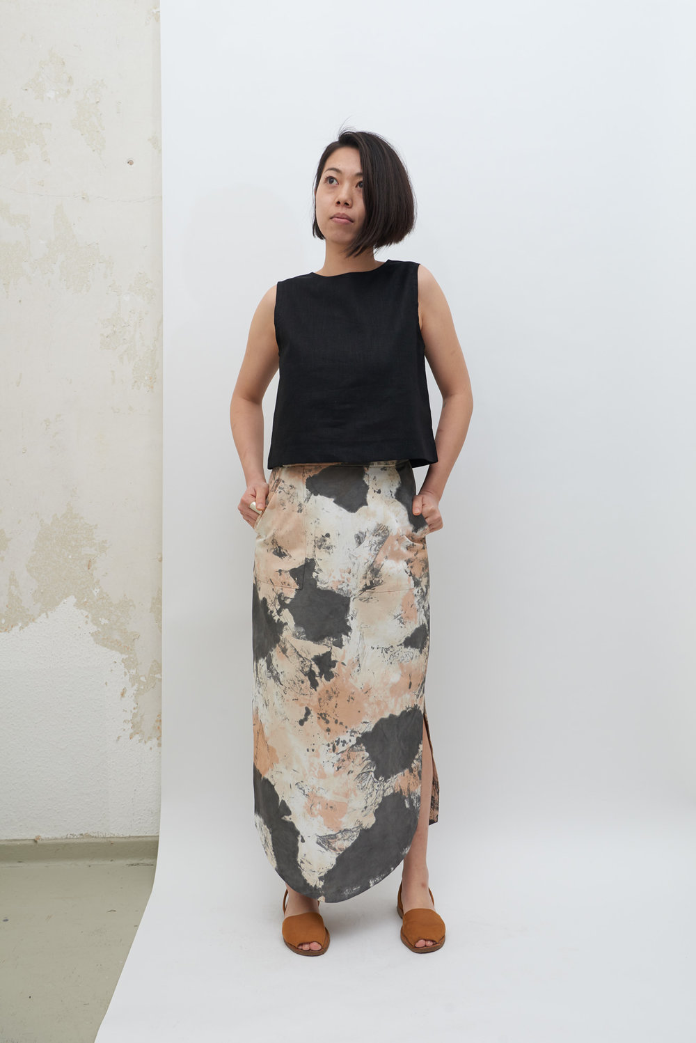 Poketto Skirt - Tea Stains