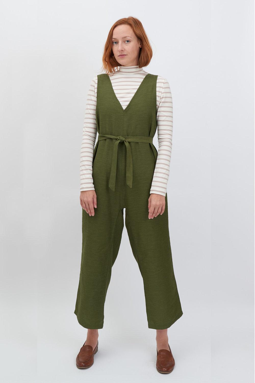 Jumpsuit-Olive Front.jpg