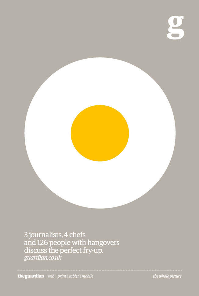 The Guardian open journalism advertising campaign, BBH, 2012   › Link