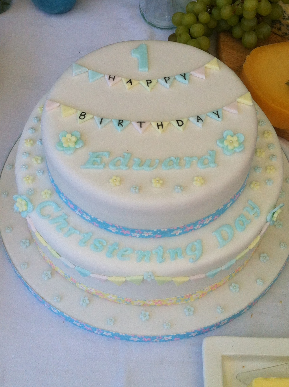 Birthday & Christening Cake
