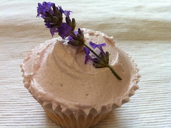 Lavender Lovelies Cupcake
