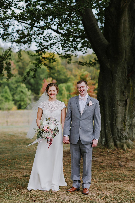 Bride and Groom Wedding at Pinehall at Eisler Farms-10.jpg
