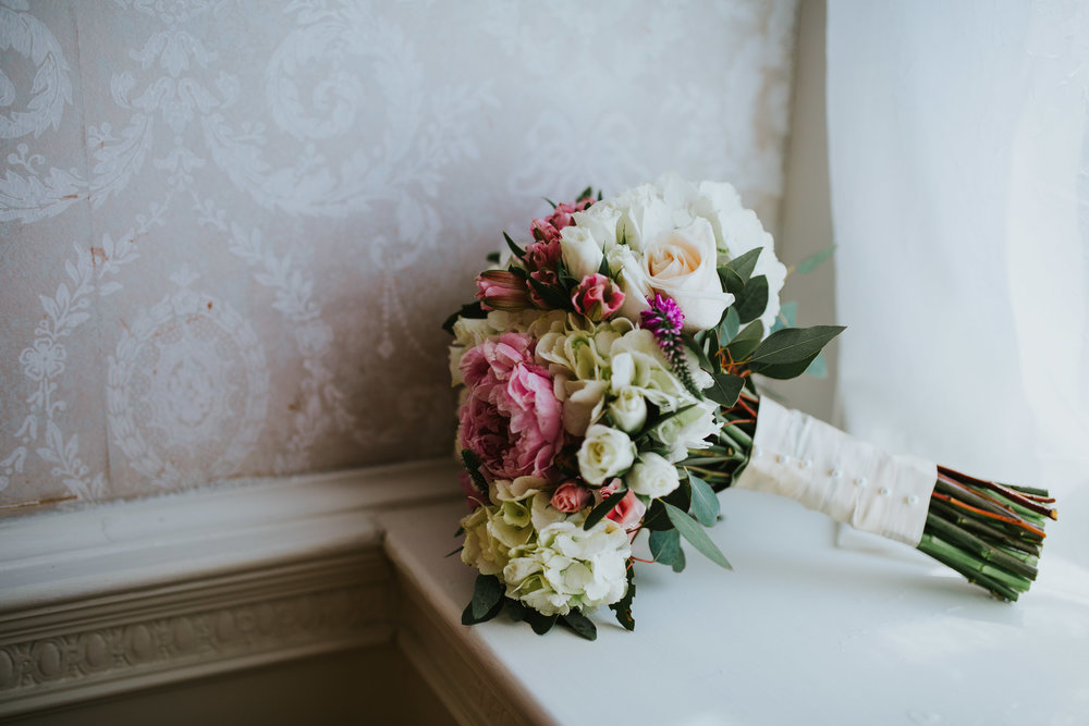 Linden Hall PA Wedding Bride and Groom Share First Look1.jpg