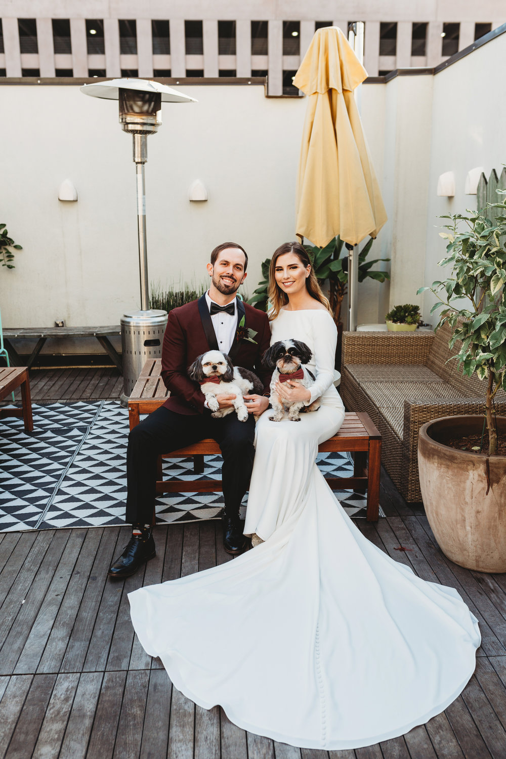 Catahoula Hotel Rooftop Wedding Ceremony New Orleans Wedding Photographer Ashley Biltz Photography6.jpg