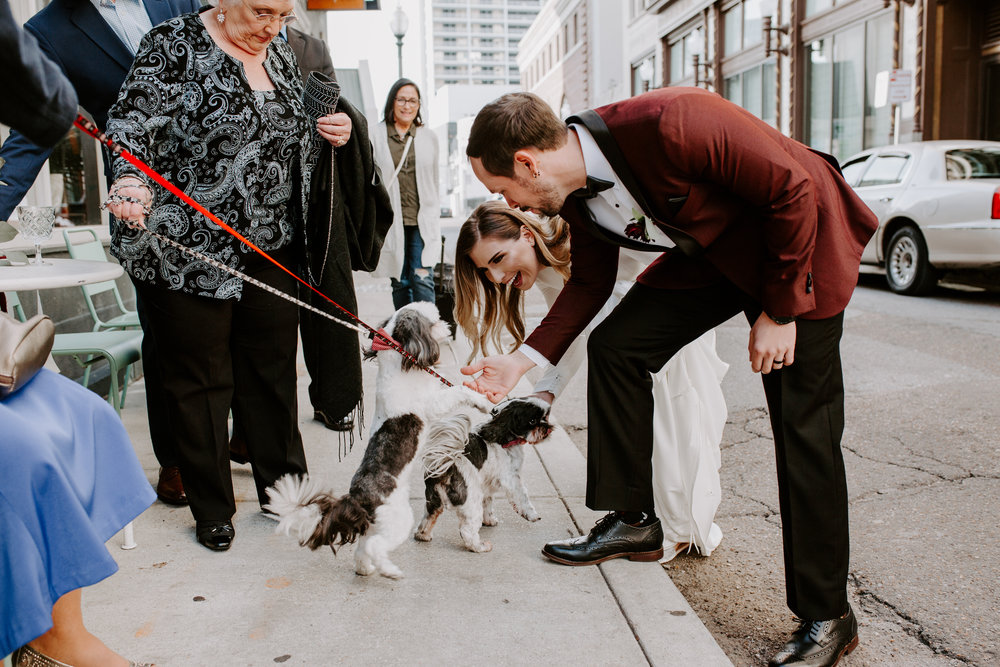 Catahoula Hotel Rooftop Wedding Ceremony New Orleans Wedding Photographer Ashley Biltz Photography1.jpg
