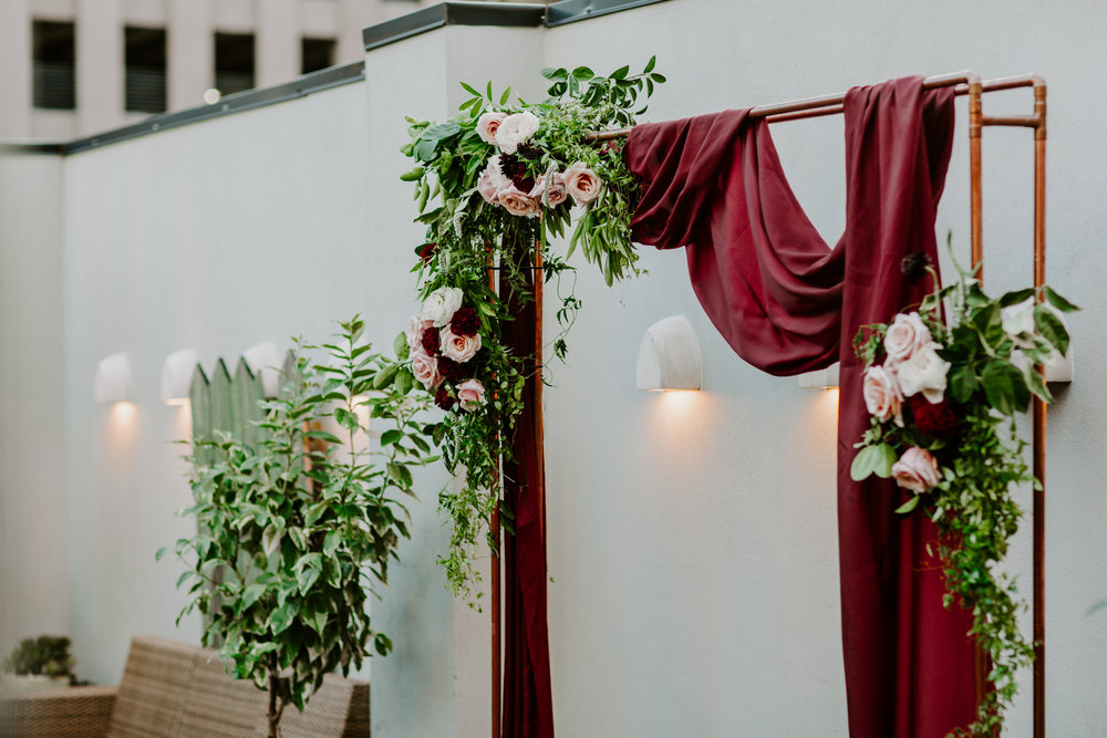 Catahoula Hotel Rooftop Wedding Ceremony New Orleans Wedding Photographer Ashley Biltz Photography21.jpg