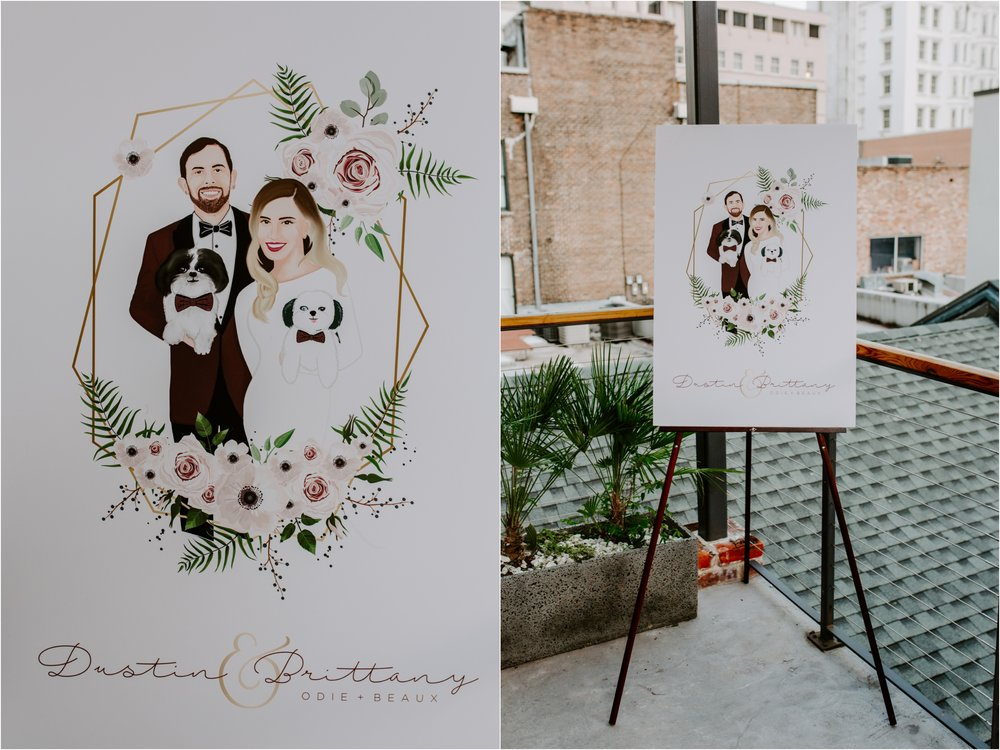 Catahoula Hotel Rooftop Wedding Ceremony New Orleans Wedding Photographer Ashley Biltz Photography22.jpg