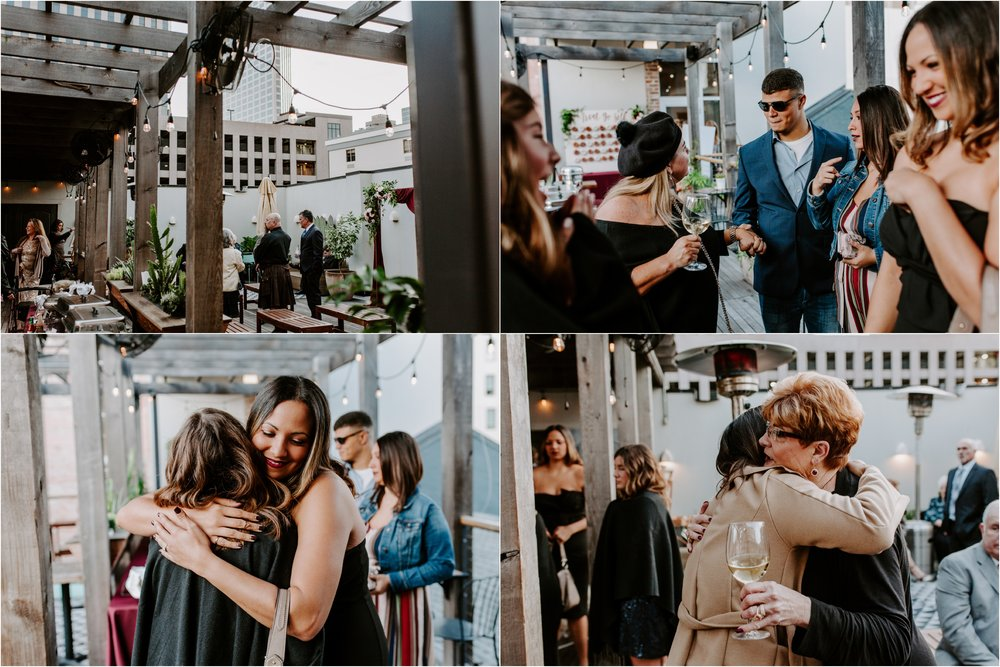 Catahoula Hotel Rooftop Wedding Ceremony New Orleans Wedding Photographer Ashley Biltz Photography23.jpg