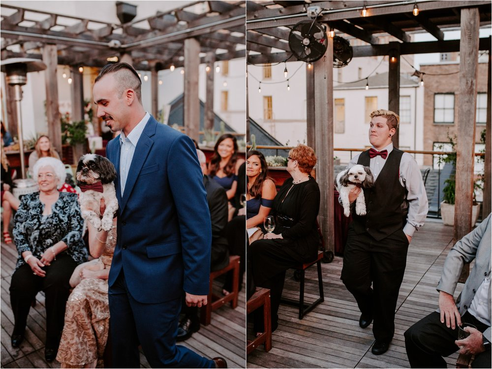 Catahoula Hotel Rooftop Wedding Ceremony New Orleans Wedding Photographer Ashley Biltz Photography33.jpg