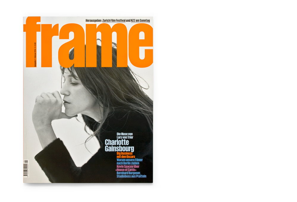 Charlotte Gainsbourg cover, Frame magazine