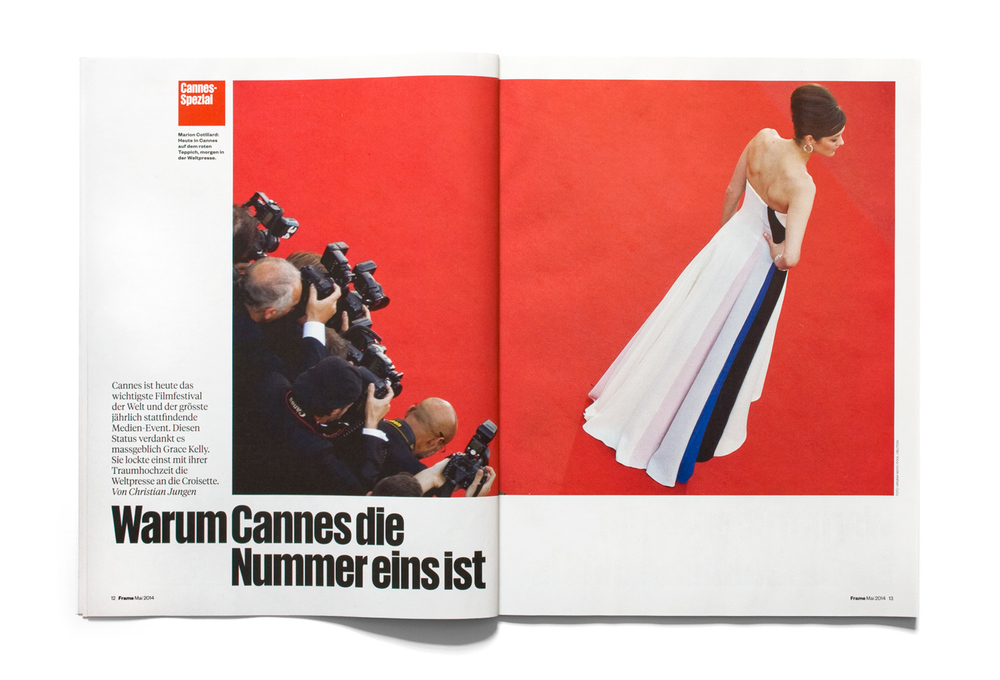 Cannes special feature, Frame magazine