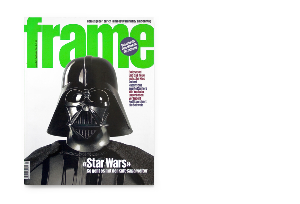 Darth Vader cover, Frame magazine
