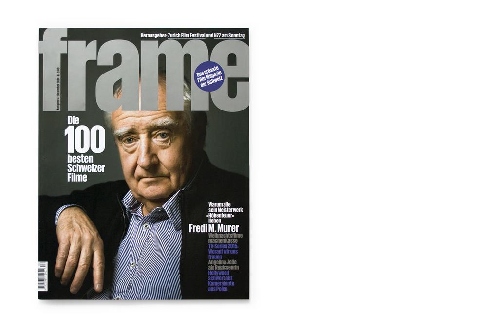 Fredi M. Murer cover, Frame magazine