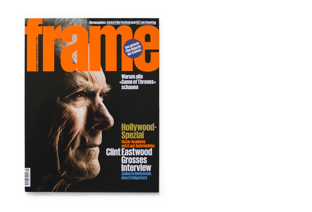 Clint Eastwood cover, Frame magazine