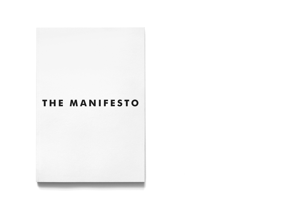 The Manifesto magazine cover