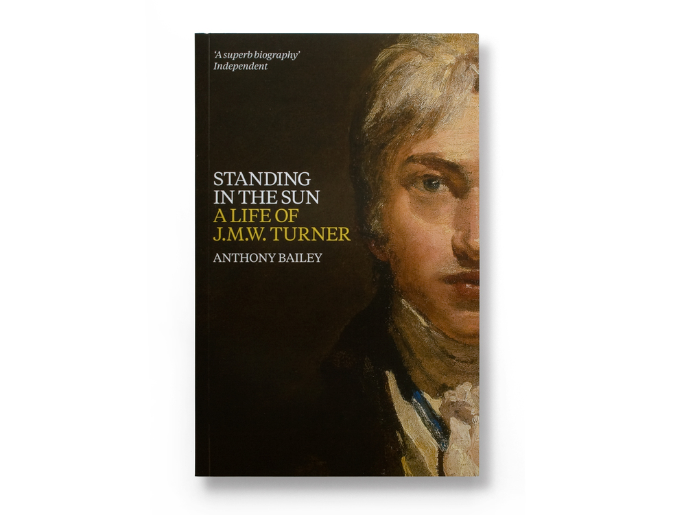 J.M.W. Turner book jacket