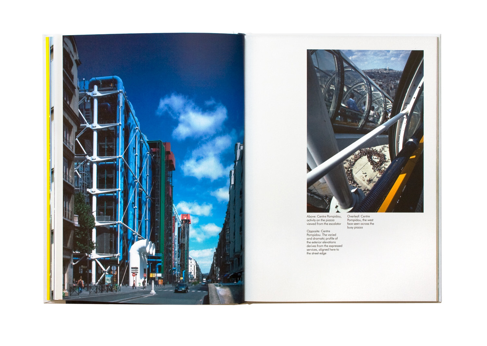 Richard Rogers Inside Out book spread