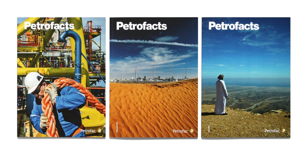 Petrofacts magazine covers