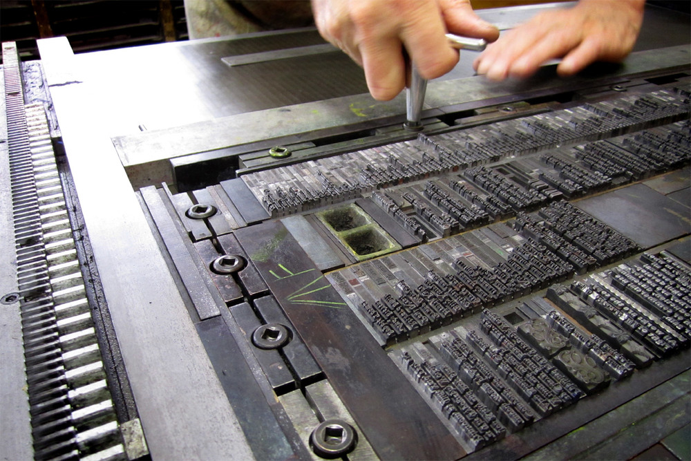 Kitching's Concise letterpress typography workshop
