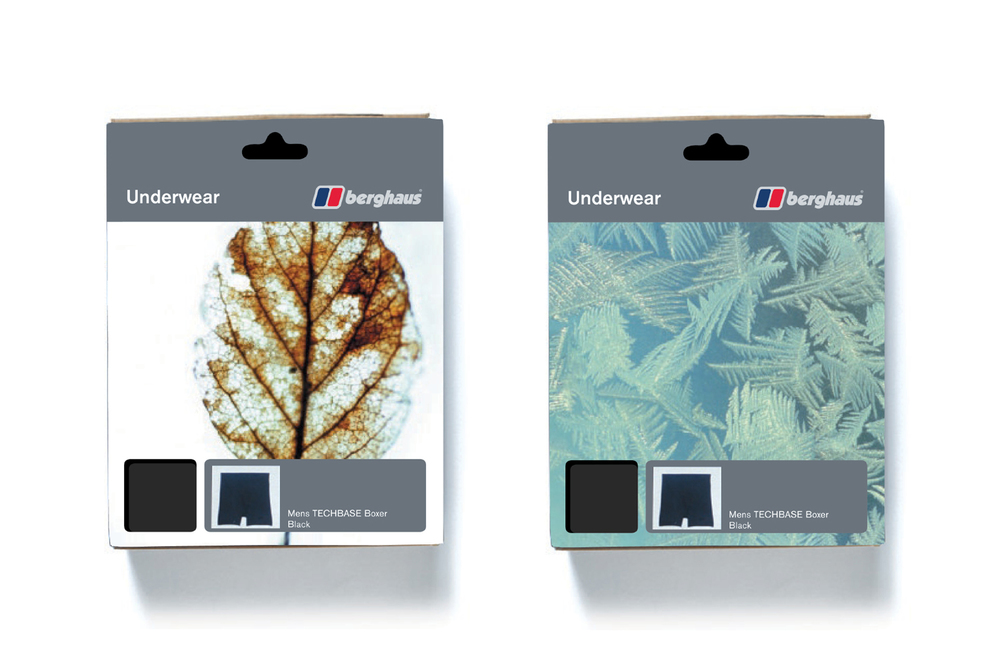 Berghaus packaging