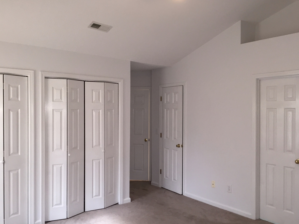 ENTIRE REPAINT — CEILING, WALLS, TRIM & DOORS