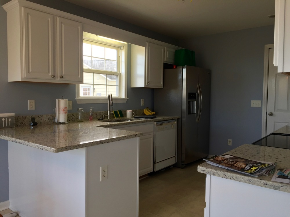 ENTIRE HOUSE REPAINT — KITCHEN CABINETS / CEILING / WALLS / TRIM & DOORS