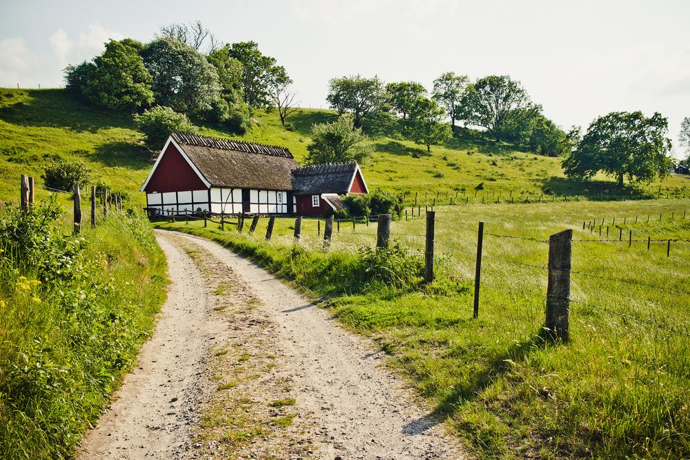 Österlen i Skåne på sommaren2